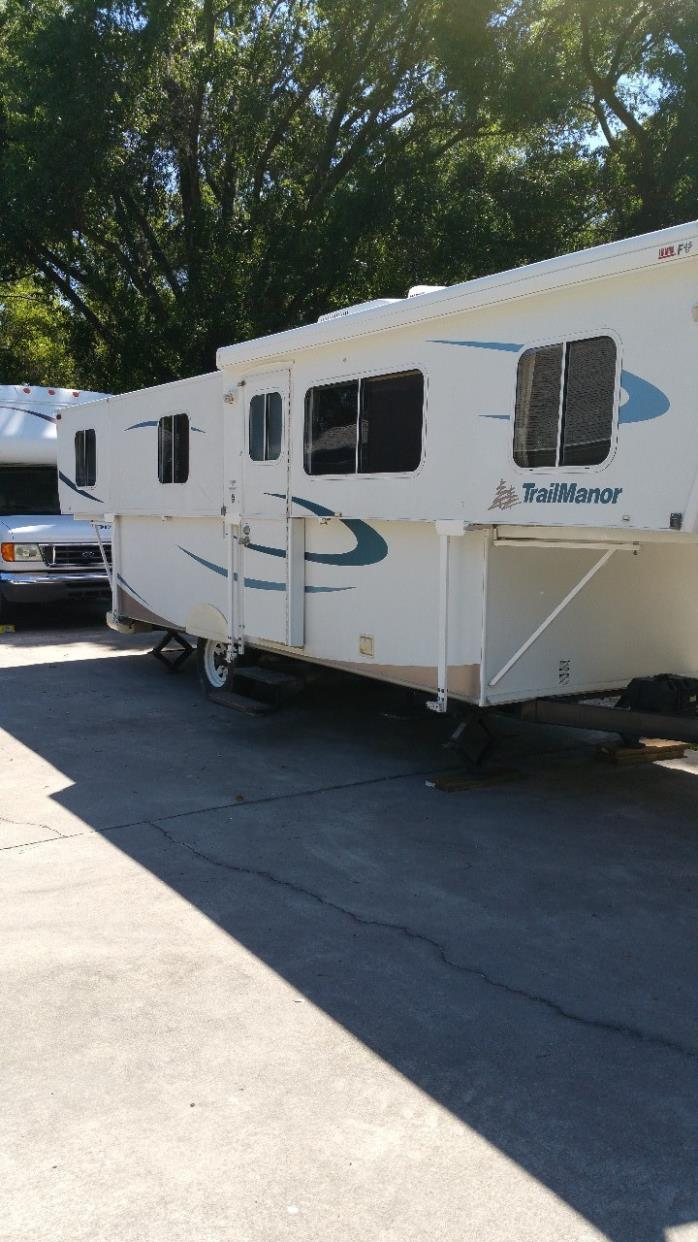 2008 Trailmanor 3023 FOLDING TRAVEL TRAILER