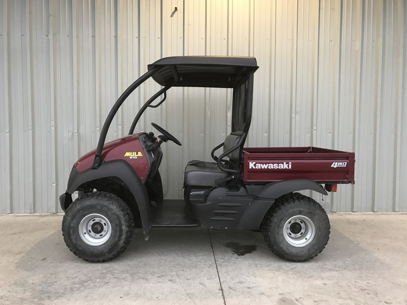 kawasaki mule 610 4x4 motorcycles for sale in flora illinois. Black Bedroom Furniture Sets. Home Design Ideas