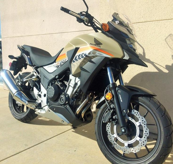 2016 Honda CB 500X ABS