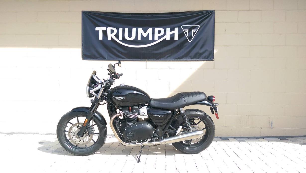 2017 Triumph Street Twin