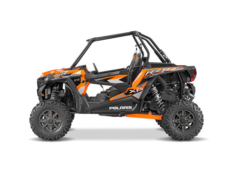 2016 Polaris RZR XP Turbo EPS Spectra Orange