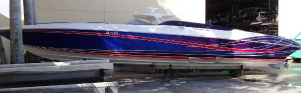 fountain 47 lightning boats for sale