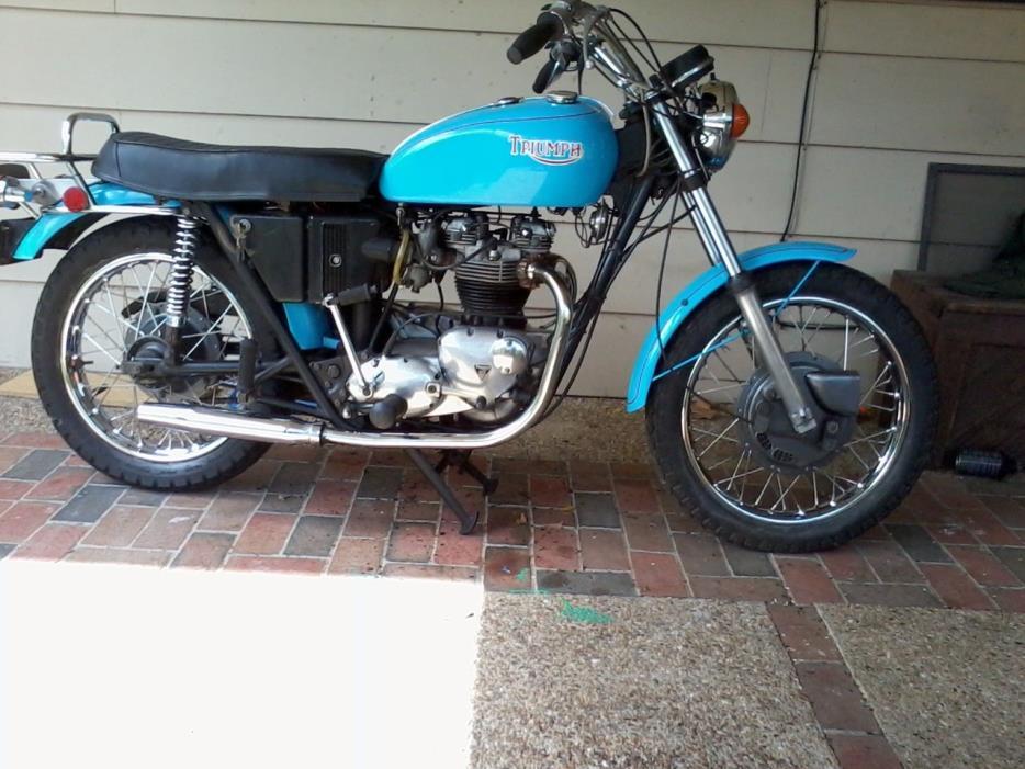 1971 Triumph BONNEVILLE T120R
