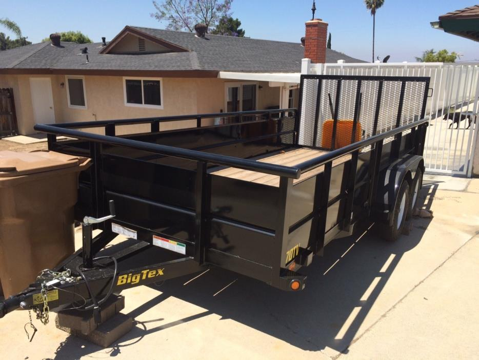 2015 Big Tex DUAL AXLE 16 FT