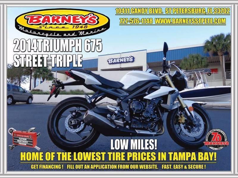 2014 Triumph Street Triple ABS