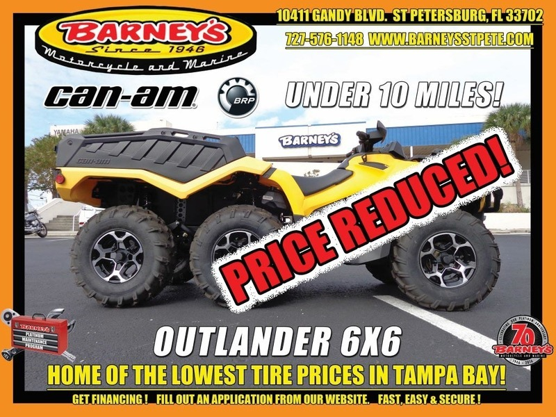 2015 Can-Am Outlander 6x6 XT 1000