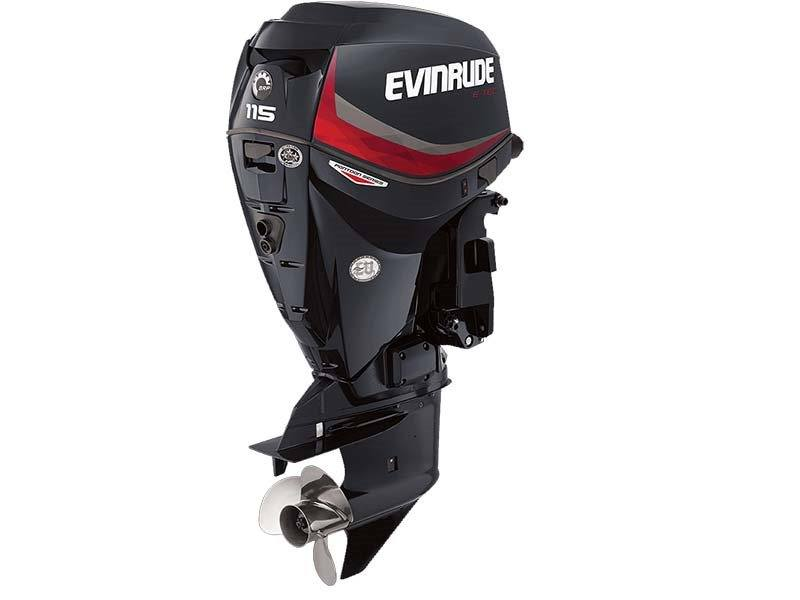 2017 EVINRUDE E115GNL