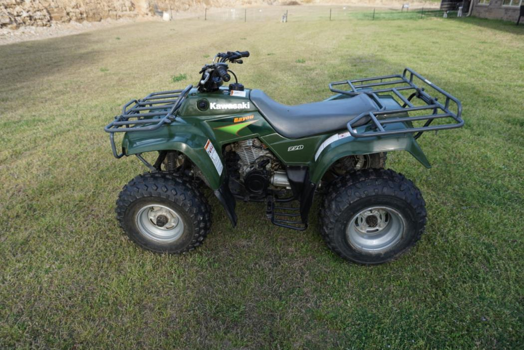 kawasaki bayou 220 motorcycles for sale in arkansas. Black Bedroom Furniture Sets. Home Design Ideas