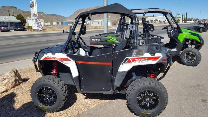 2014 Polaris Sportsman ACE White Lightning