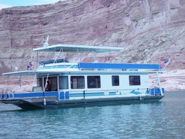 2000 Stardust Cruisers 55x14 Houseboat