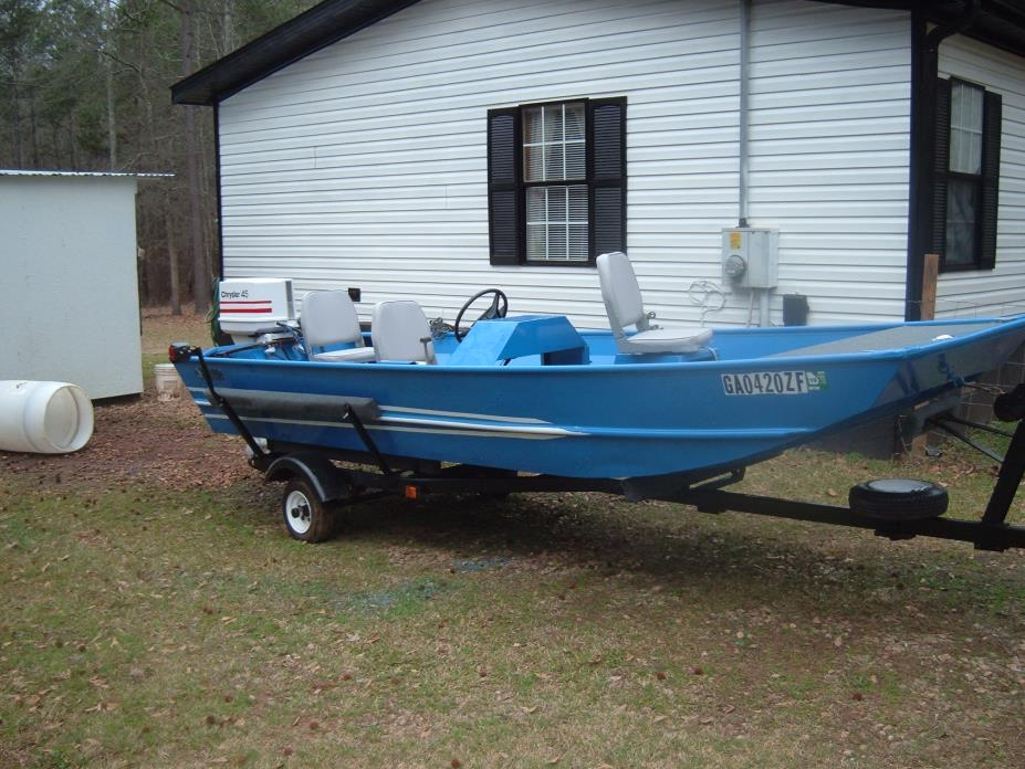 aluminum fishing boats for sale in georgia