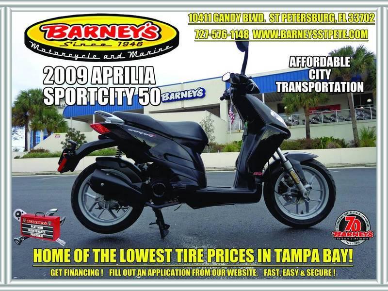 2009 Aprilia SportCity 50