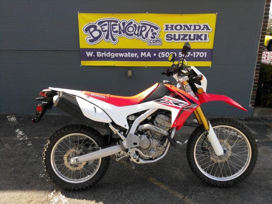 honda crf250l massachusetts motorcycles