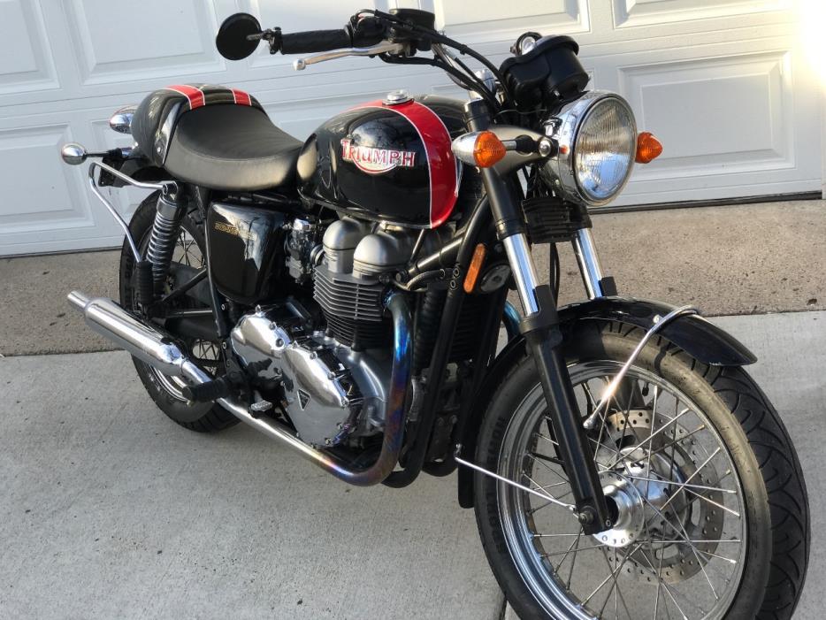 2001 triumph bonneville motorcycles for sale. Black Bedroom Furniture Sets. Home Design Ideas