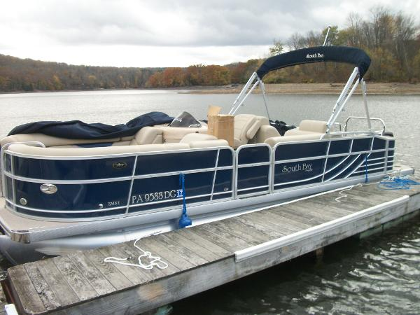 2012 South Bay Pontoons 724SL