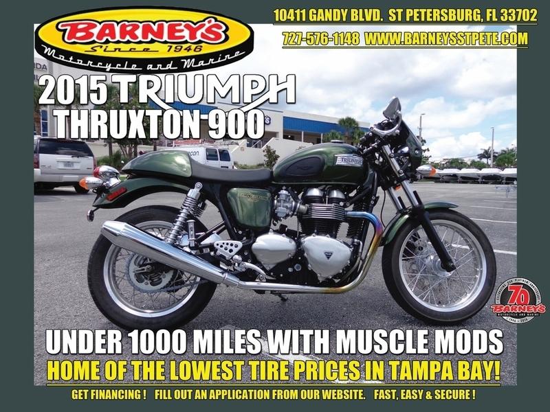 2015 Triumph Thruxton Standard