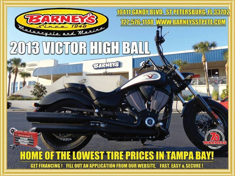 2013 Victory High-Ball Suede Black W/ Graphics