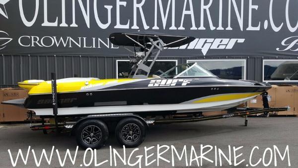2017 Sanger Boats 215 XTZ