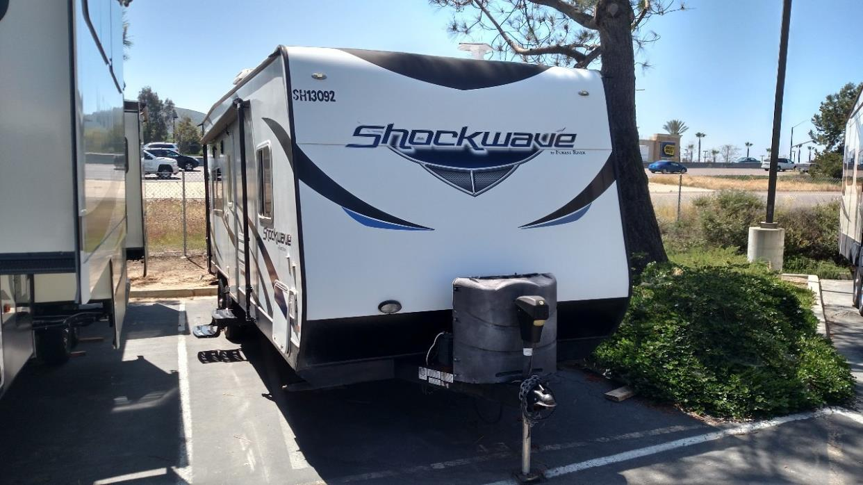 2013 Forest River SHOCKWAVE 24QRDX