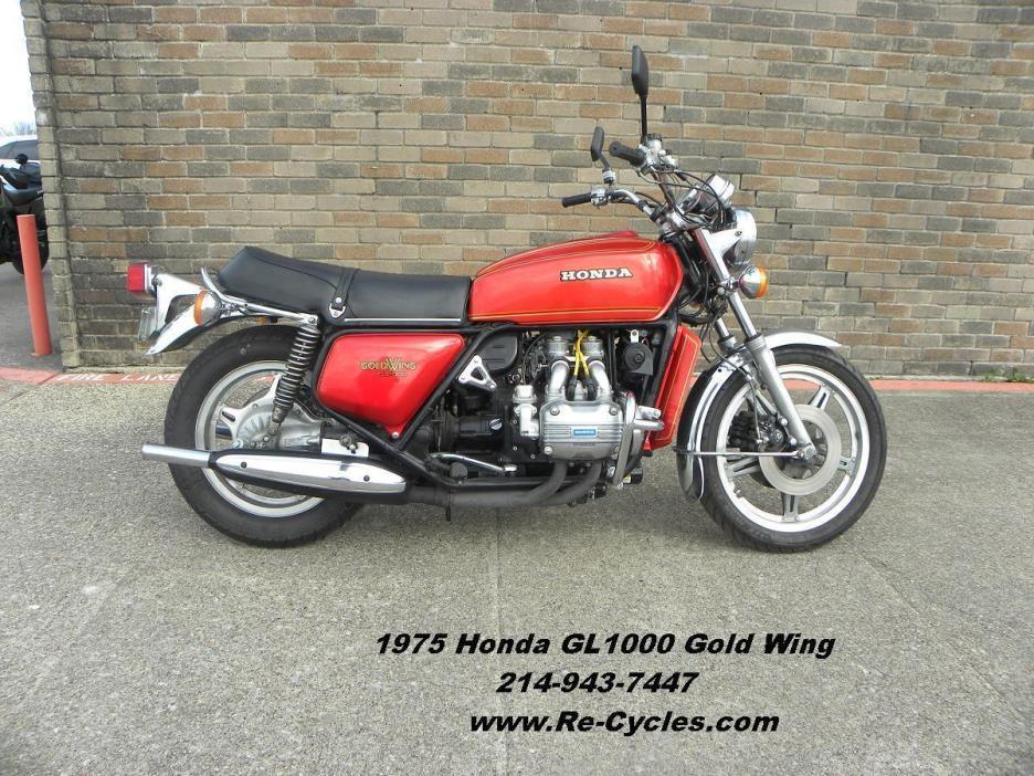 1975 Honda GL1000 Gold Wing