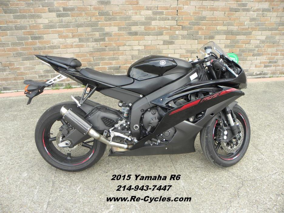 Yamaha yzf r6 motorcycles for sale in dallas texas for Yamaha r6 600 for sale