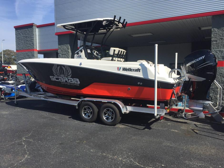 2017 Wellcraft 242 Scarab Offshore