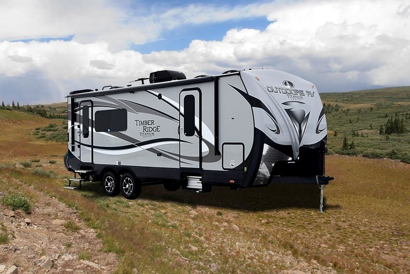 2017 Outdoors Rv Titanium Series Titanium Timber Ridge 24RKS