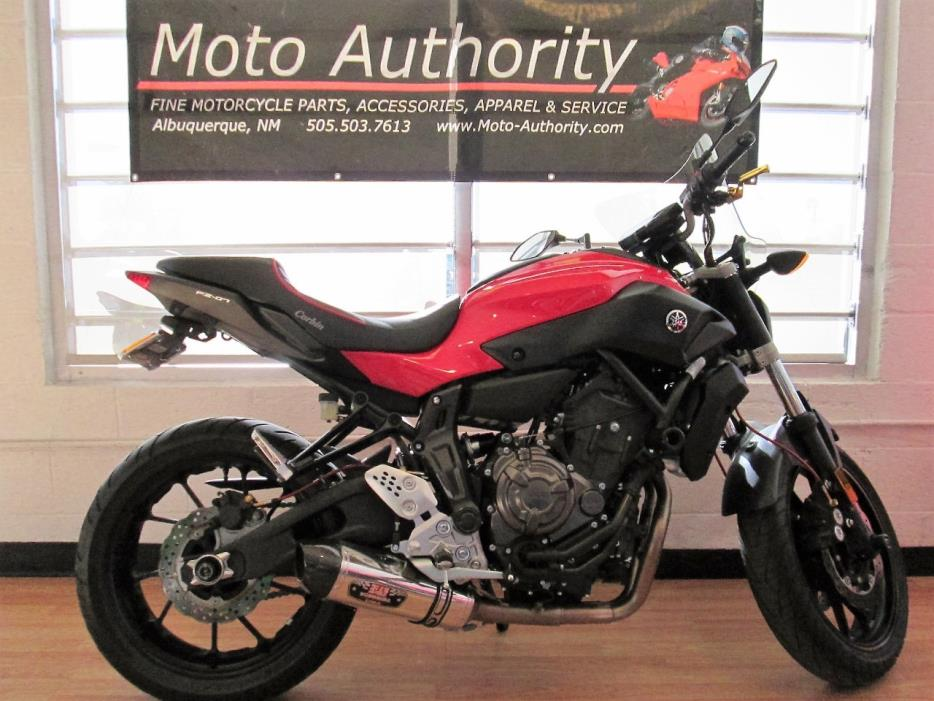 yamaha fz07 motorcycles for sale in new mexico. Black Bedroom Furniture Sets. Home Design Ideas