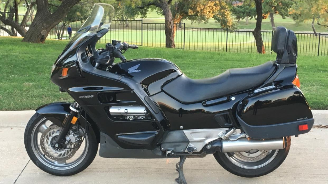 honda st series 1100 motorcycles for sale. Black Bedroom Furniture Sets. Home Design Ideas