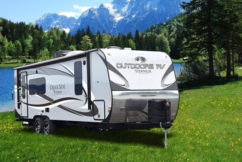 2017 Outdoors Rv Titanium Series Titanium Creek Side 23RKS