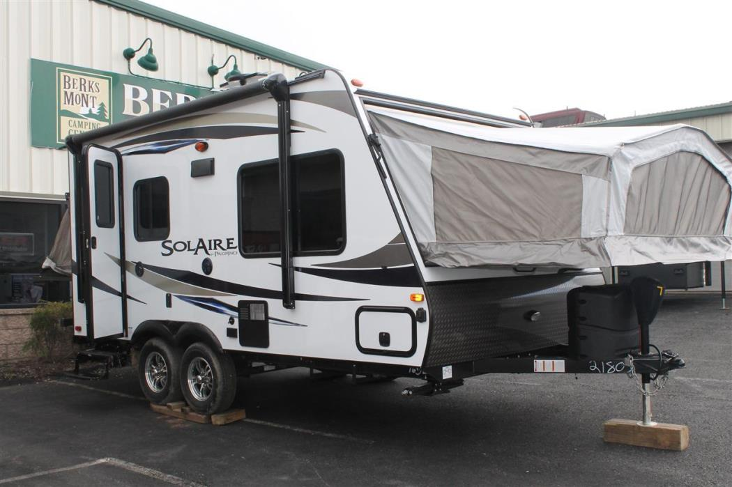 2017 Forest River PALOMINO SOLAIRE HYBRID 163X