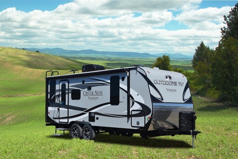 2017 Outdoors Rv Titanium Series Titanium Creek Side 20FQ