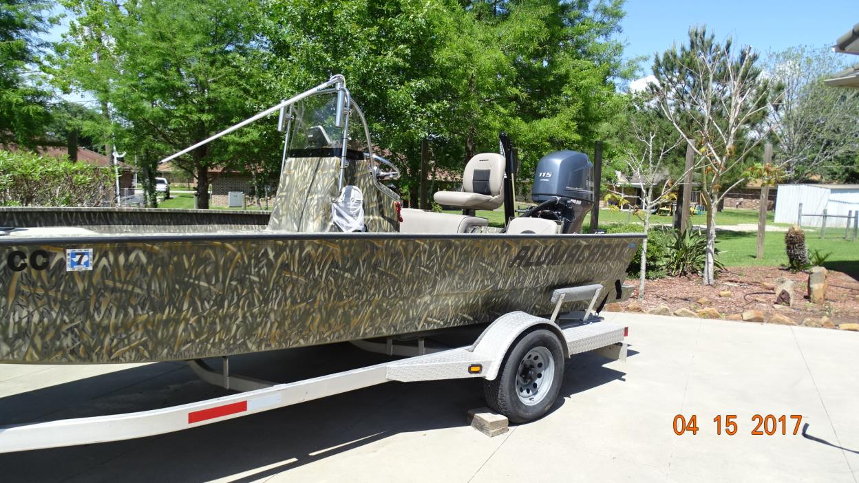 2014 Alumacraft MV2072 Bay LX
