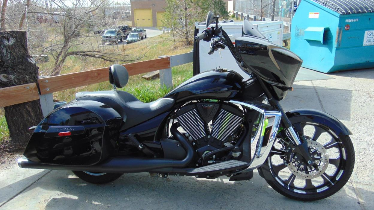Victory Cross Country 8 Ball motorcycles for sale in Colorado