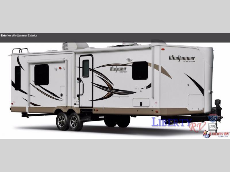 2016 Forest River Rv Rockwood Wind Jammer 3006WK