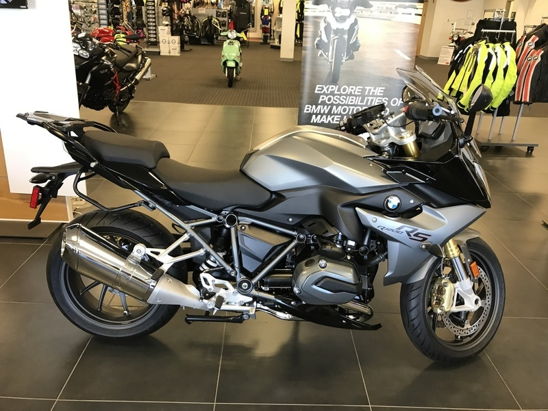 2016 BMW R 1200 RS Style 2 Granite Grey Metallic Matte