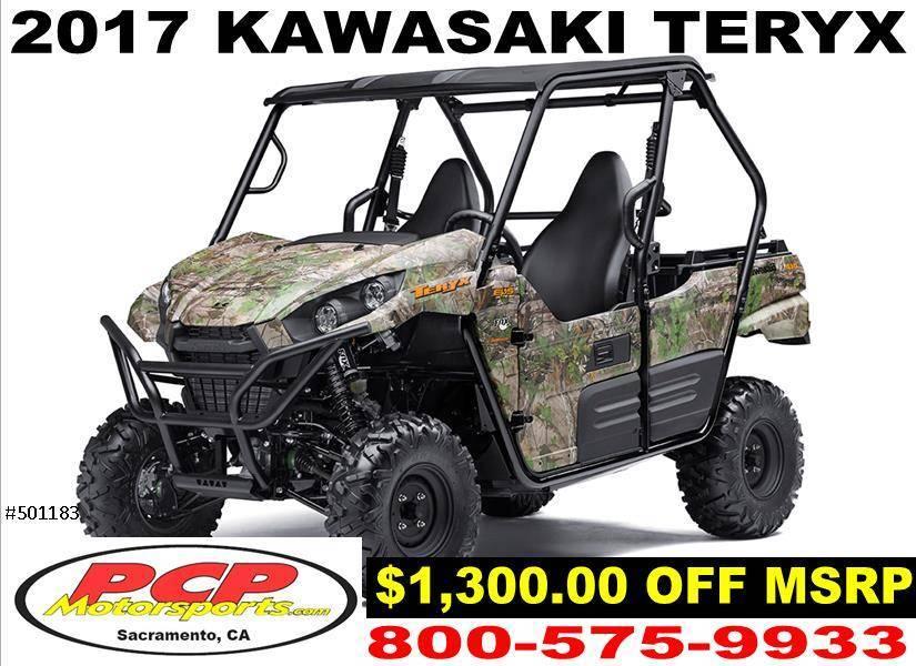 2017 Kawasaki Teryx Camo