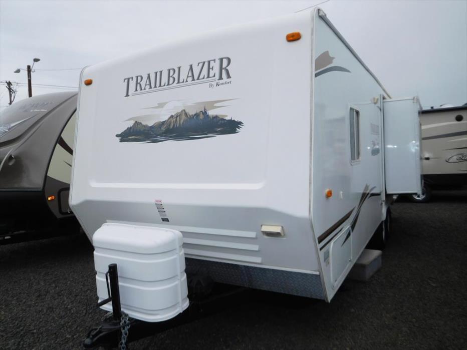 2008 Komfort Trailblazer 240S