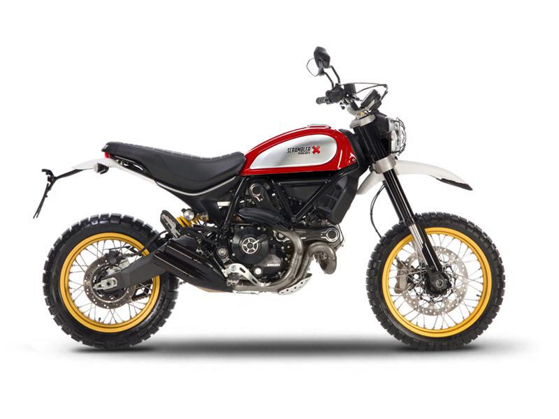 2017 Ducati Scrambler Desert Sled Red Dusk