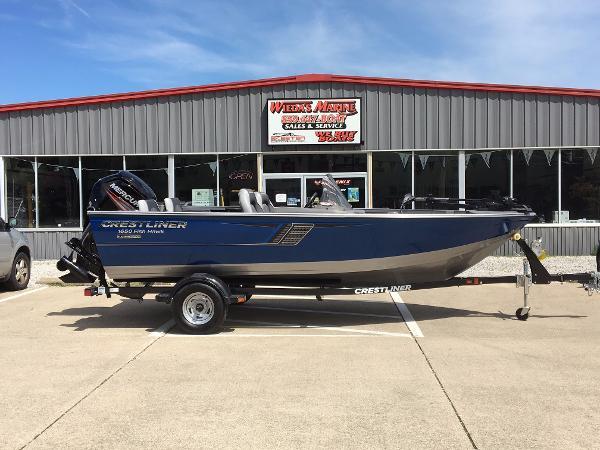 2016 Crestliner 1650 Fish Hawk
