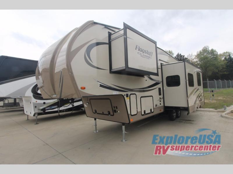 2018 Forest River Rv Flagstaff Classic Super Lite 8528BHOK