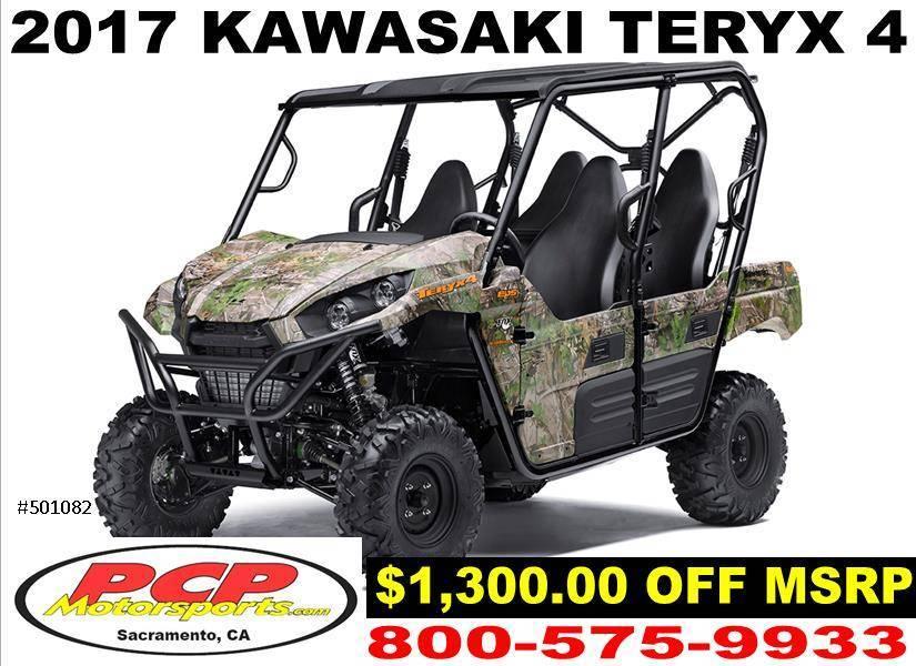 2017 Kawasaki Teryx4 Camo