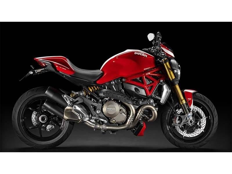 2015 Ducati Monster 1200 S Stripe