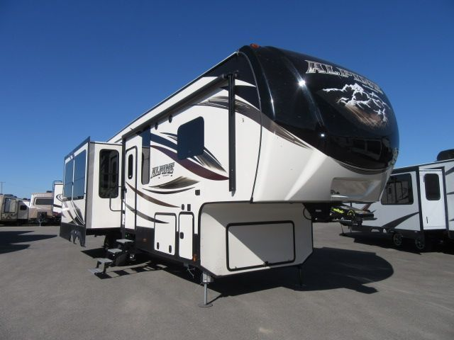 2017 Keystone ALPINE 3400RS IN COMMAND SMART AUTOMATION SYST/
