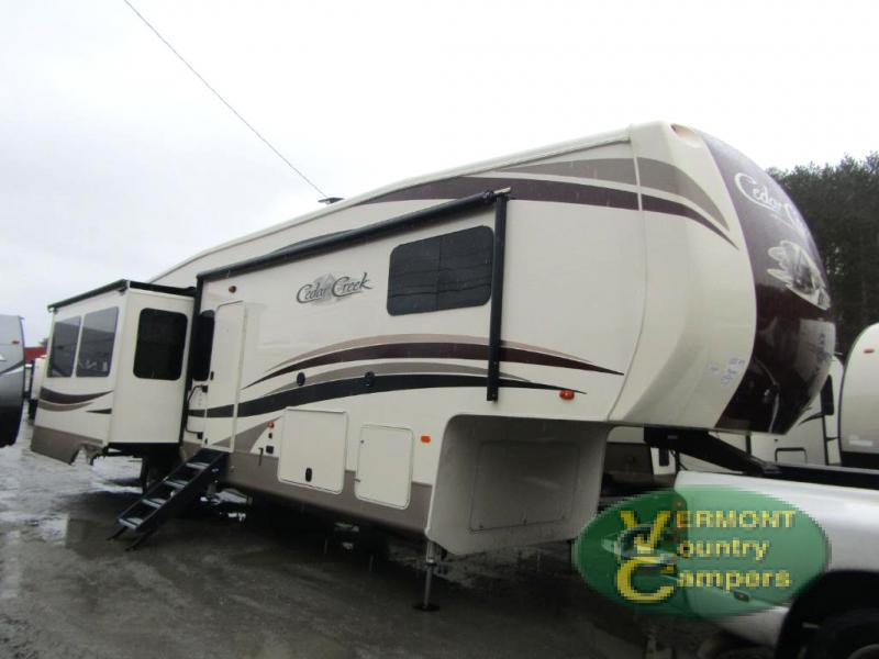 2018 Forest River Rv Cedar Creek Hathaway Edition 36CK2