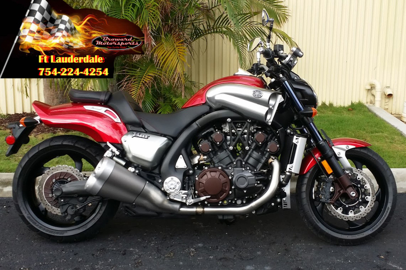 Yamaha vmax motorcycles for sale in fort lauderdale florida for Yamaha motorcycle for sale florida