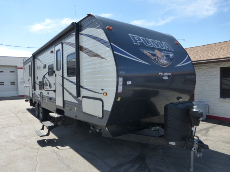 2017 Palomino Puma Travel Trailers 31-BHSS