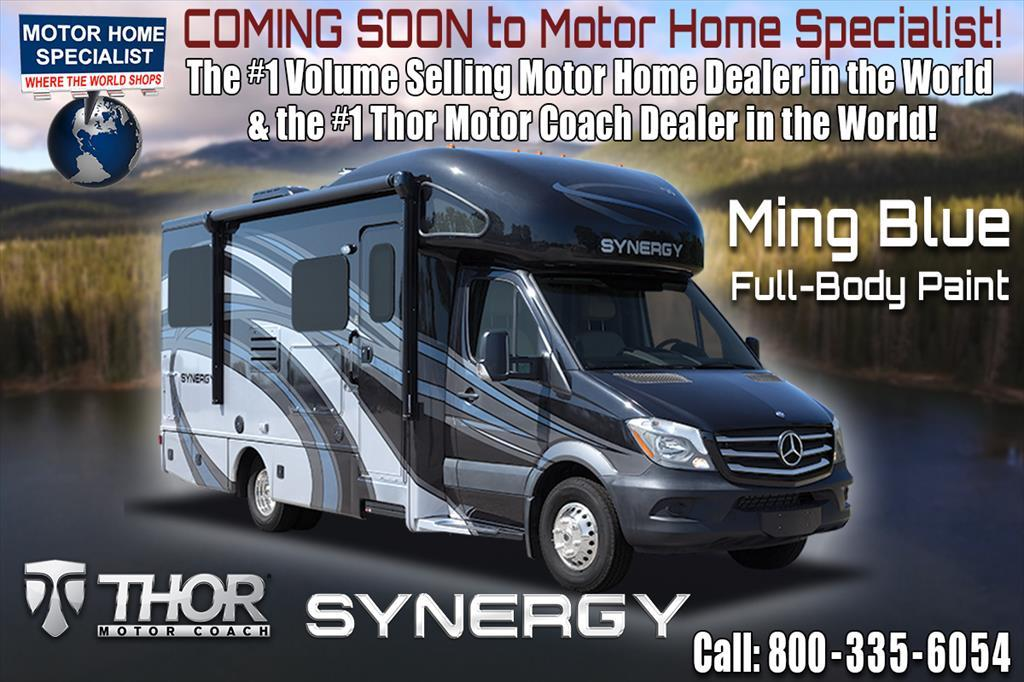 2018 Thor Motor Coach Synergy SP24 Sprinter RV for Sale W/Dsl Gen & Summit Pk