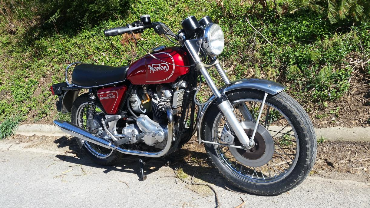 1974 Norton Commando 850 Roadster