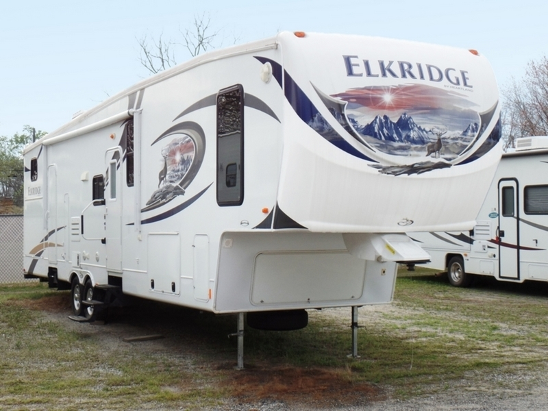 2013 Heartland ElkRidge 36QBCK